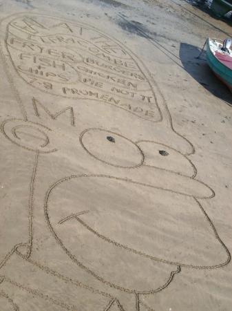 The Ilfracombe Fryer: Thank you Martin Artman Sand Artist