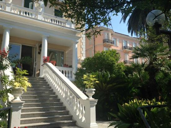 Hotel Morandi : giardino