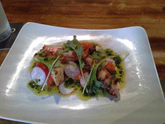 The Globe Inn: Chargrilled Octopus Salad