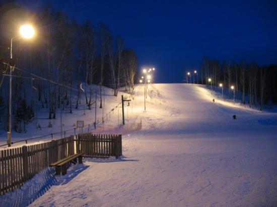 Koltsovo, روسيا: парк Кольцово зимой