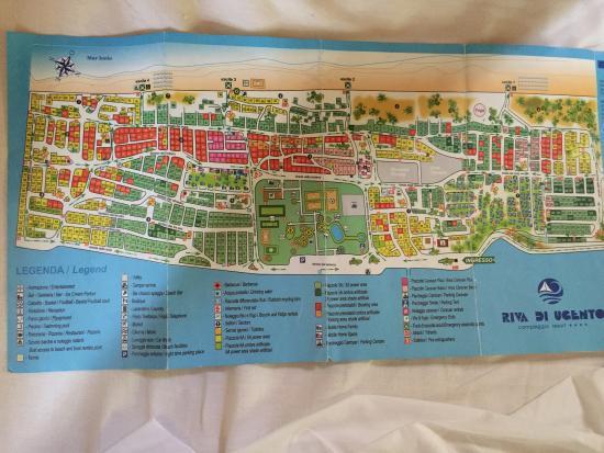 Mappa Puglia Ugento.Mappa E Vista Delle Tipiche Vie Del Campeggio Foto Di Camping Riva Di Ugento Tripadvisor