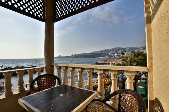Lamedina Hotel Resort Balcony With Sea View Beach Club