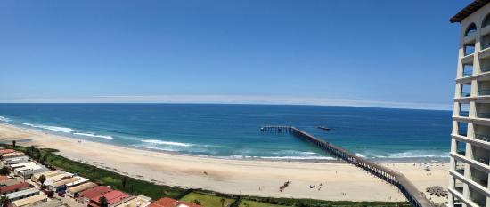 Rosarito Beach Hotel Vista Desde El Cuarto 1410 Torre Pacifica