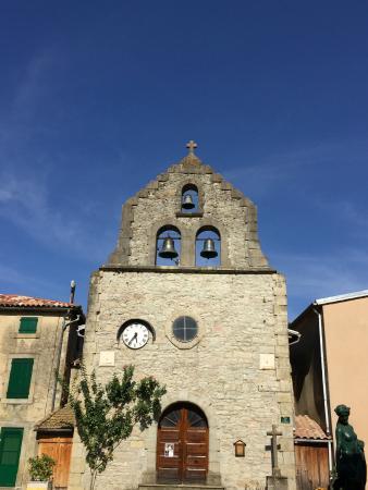 Sonnac-sur-l'Hers, Prancis: The Church