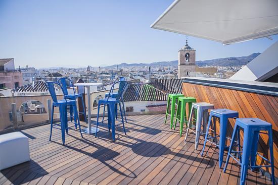 Terraza Picture Of Alcazaba Premium Hostel Malaga