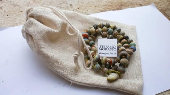 Murano Glass Fine Art Stefano Morasso Studio: murano glass beads