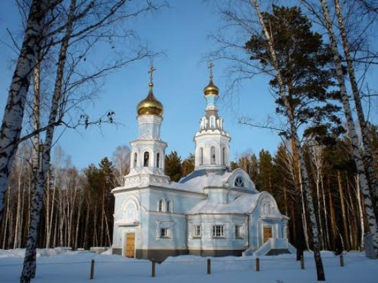 Koltsovo, روسيا: Церковь в Кольцово