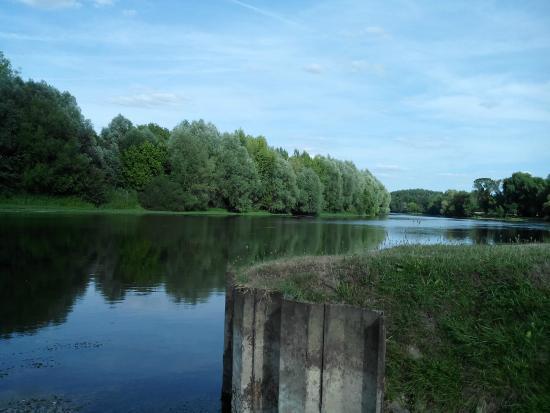 Mareuil-sur-Cher, Prancis: la vue depuis les emplacements