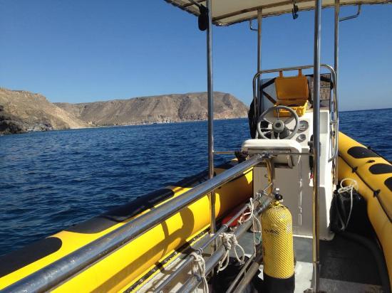 Las Negras, Spania: Paseos en barca