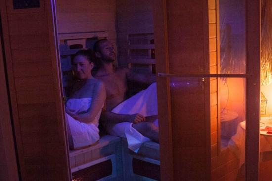 Settimo Cielo: sauna per la coppia in riservatezza