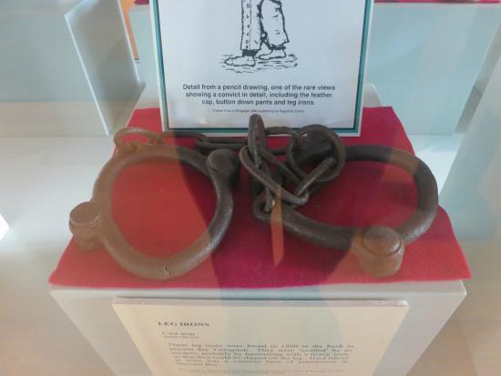 Commissariat Store - convict leg irons