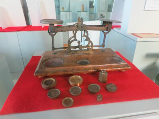 Commissariat Store - old post office scales