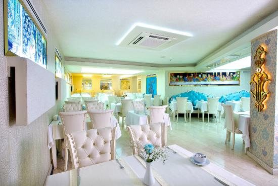 Hotel Ipek Palas: Breakfast Lounge