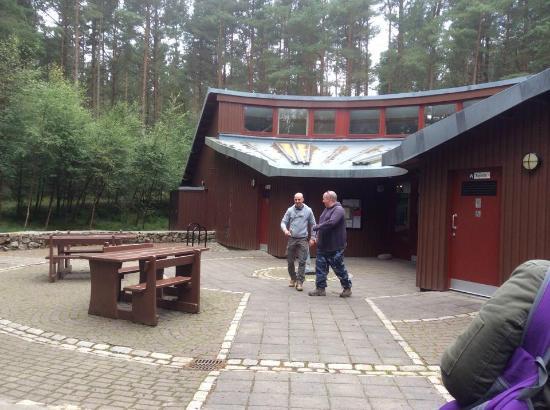 Bennachie Hill Walks: The visitor centre