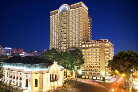 Caravelle Saigon: Facade_at_CaravelleSaigon_HoChiMinh