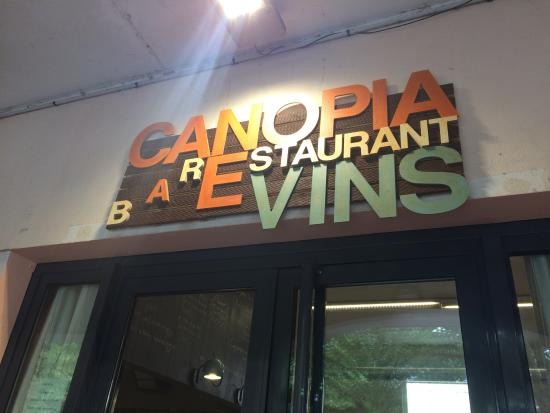 Canopia: Delicious and light! Recommended place to eat