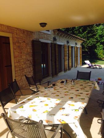 Karigador, Хорватия: Banistra Villas