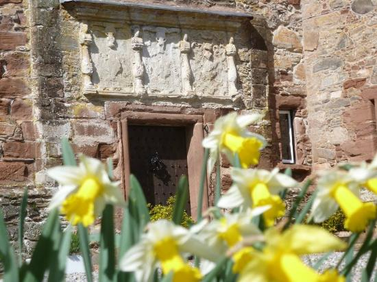 Strathpeffer, UK: The front door in spring