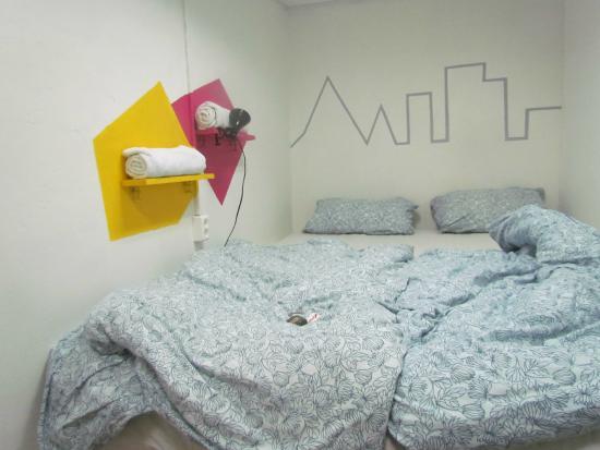 Hostel Krysha: комната