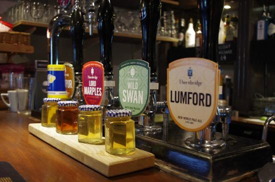 The Cricket Inn: Range of different Ales means you are sure to find a favourite