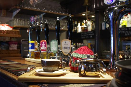 The Cricket Inn: If Ale isn't to your fancy why not cosy up by the fires with a fresh steamed pot of tea