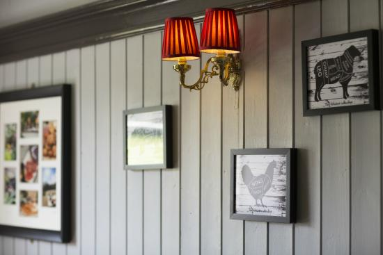 The Cricket Inn: Simple design to compliment the historic pub