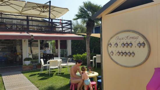 Bagno hermitage marina di massa italy top tips before you go with photos tripadvisor - Bagno la cicala marina di massa ...