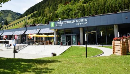 Murren, Switzerland: Alpine Sports Centre and Tourist Information Mürren
