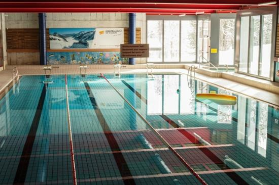 Swimming Pool 25 meters indoor at Alpine Sports Centre ...