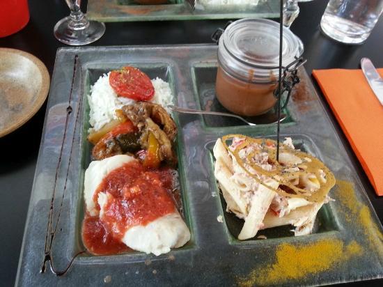 Le Soleia: menu de cantine