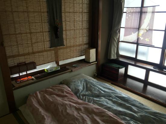 Tama Ryokan: Our room with futons
