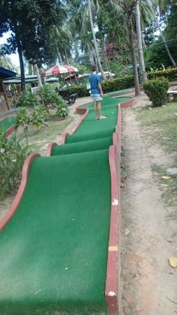 Koh Tao Leisure Park: The rollercoaster