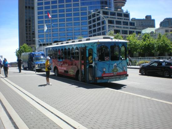 The Vancouver Trolley Company: Vancouver trolley bus