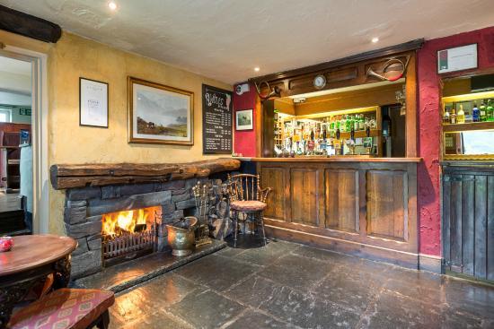 Traveller's Rest Grasmere: Bar area