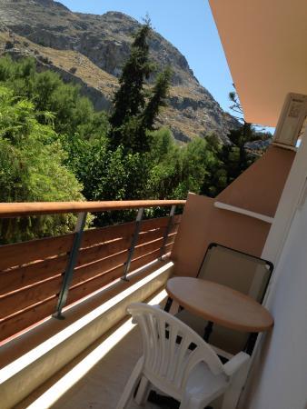 Paligremnos Apartments: Балкон
