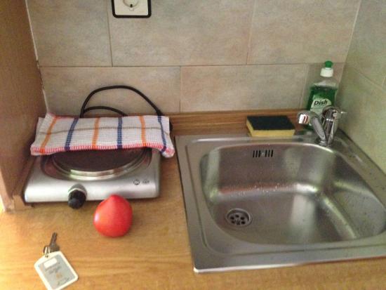 Paligremnos Apartments: Кухня