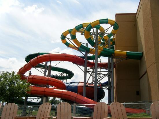 Indoor Water Park Slides