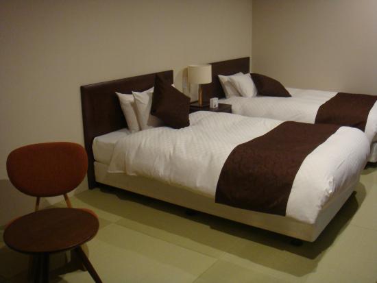 Hotel Harmonie Terrasse: ベッド