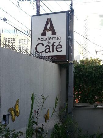 Academia do Café: Fachada interna.