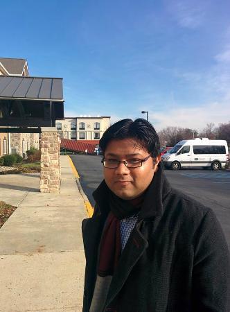 Staybridge Suites Philadelphia - Mt Laurel: Myself at hotel