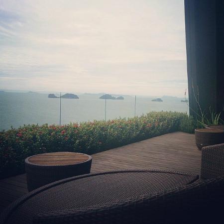Conrad Koh Samui Residences : View from Spa