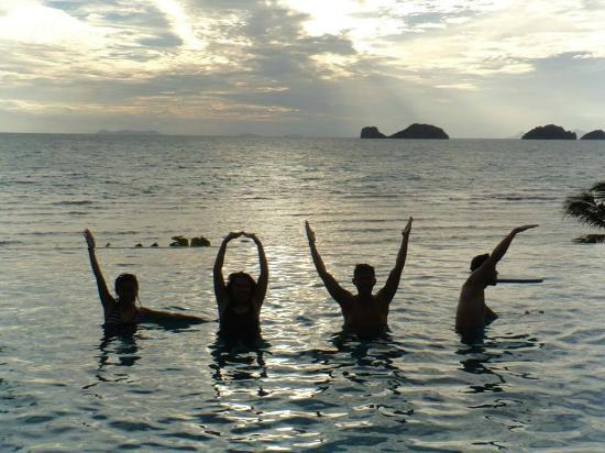 Conrad Koh Samui Residences : Public pool