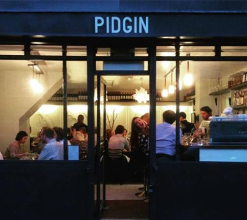 Pidgin Restaurant London