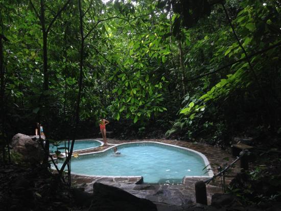Alajuela, Costa Rica: Piscinita acorazonada en medio del bosque