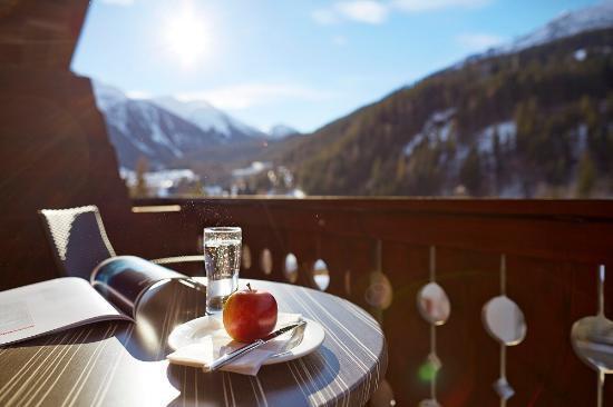 Hotel Restaurant Steinbock: Aussicht vom Balkon