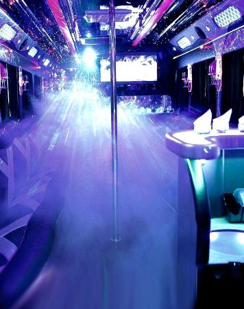 Fog Machine On Party Bus Picture Of Playground Atlanta