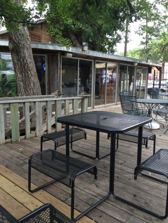 Riverside Cafe: Patio