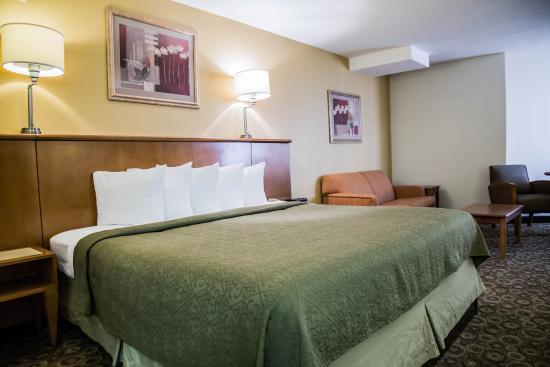 Quality Inn & Suites: King Room