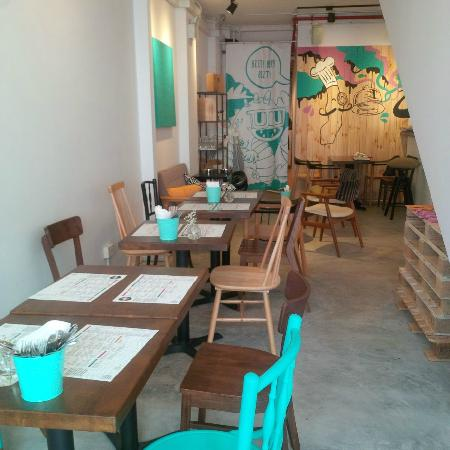 Photo of Cafe OMB at 7 Dunlop Street, Singapore 209337, Singapore