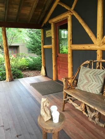 Dartbrook Lodge: Our little cabin - Woodruff Cottage
